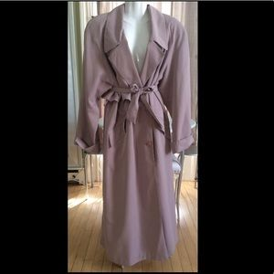Nordstroms gallery vintage long maxi duster trench